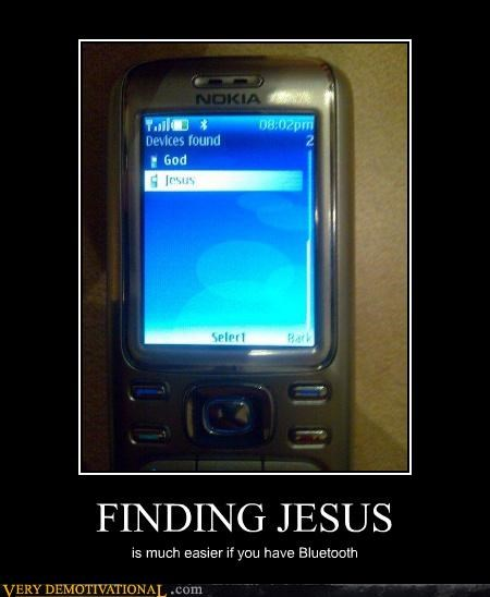 bluetooth jesus phone technology