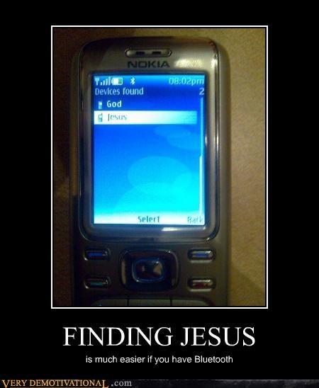 bluetooth jesus phone technology - 4452217600