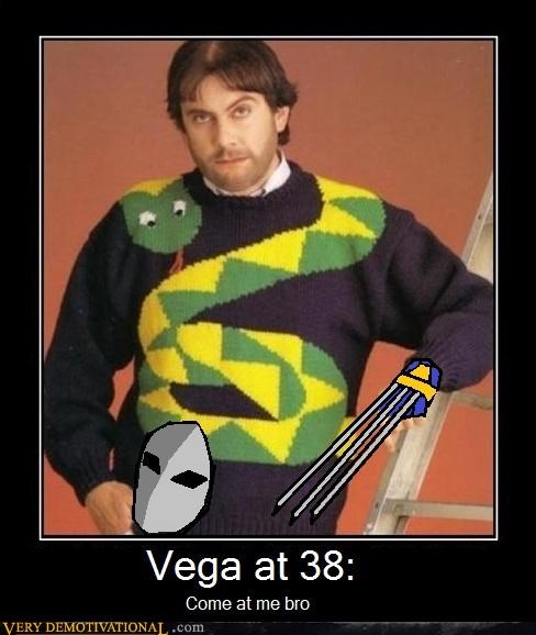 wtf vega sweater street fighter 2 - 4452338944