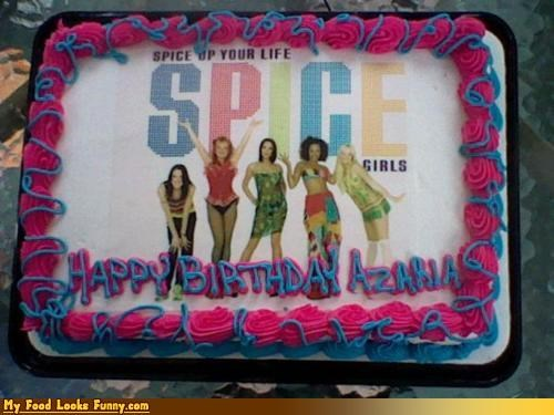 birthday,birthday cake,cake,Music,spice girls,spice girls cake,Sweet Treats