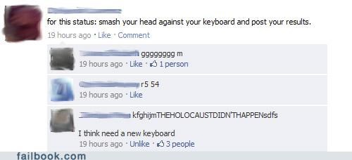 keyboard,lol,status game,witty reply