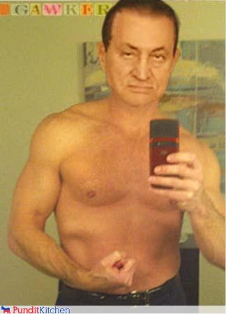 chris lee craigslist egypt Hosni Mubarak myspace pic photoshopped resignation silly - 4452607744