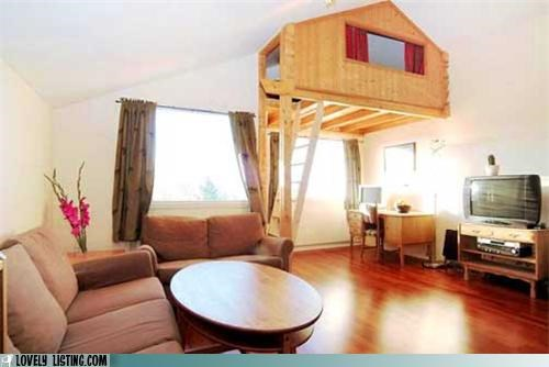 loft room treehouse