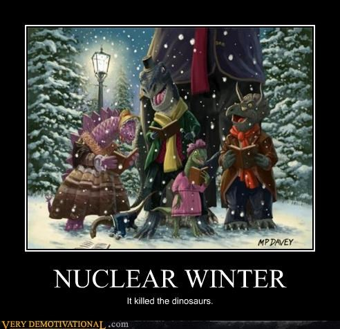 christmas nuclear winter dinosaurs - 4453075712