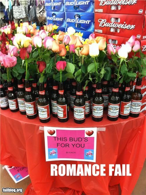 beer,display,failboat,g rated,holiday,roses,store,Valentines day