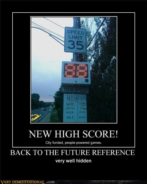 back to the future,refrence,speed limit