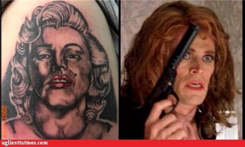 celeb,I see dead people,marilyn monroe,poor execution,portraits