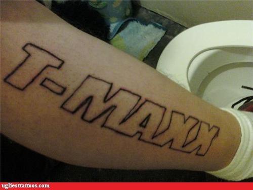 misspellings tattoos tj maxx funny - 4453863936