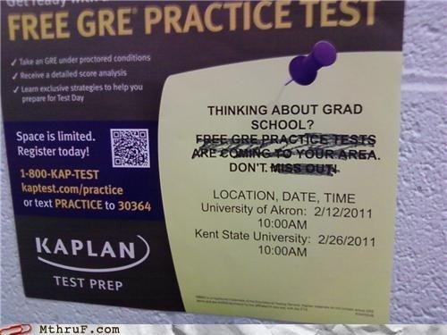 career advice grad school gre signs - 4455416064