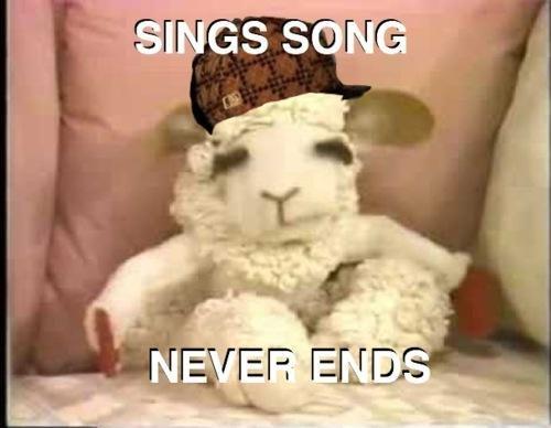 Lamb Chop Scumbag Steve the game - 4455451136