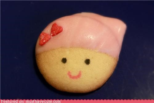 cookies epicute face girl icing nilla wafer - 4455478528