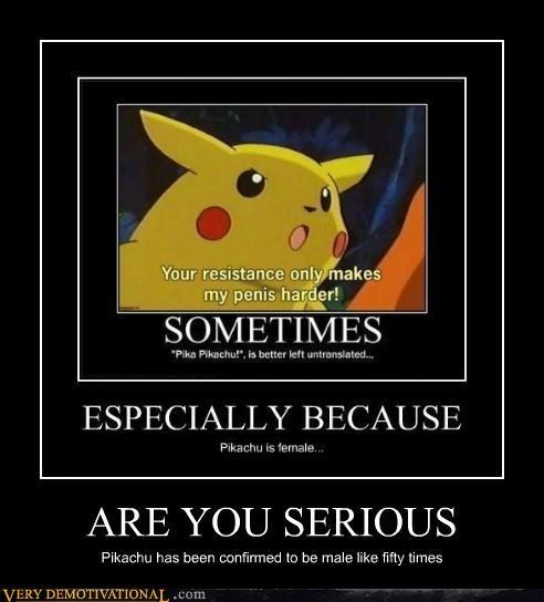 Pokémon male anime pikachu female - 4455498240