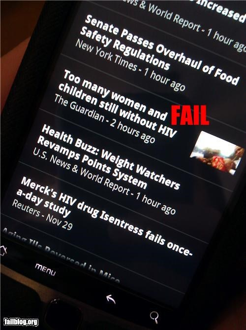 aids,disease,failboat,headline,hiv,no thanks,Probably bad News