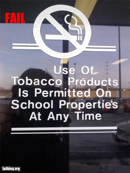 failboat g rated no signs smoking - 4455544832