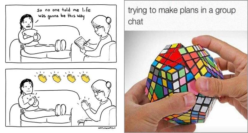 Funny random memes and web comics.