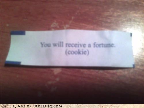 fortune fortune cookie IRL obvious - 4456431872