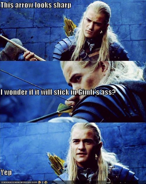 actor,celeb,funny,legolas,Lord of the Rings,orlando bloom,sci fi