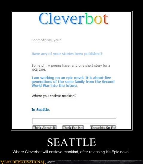 seattle,novel,skynet,Cleverbot