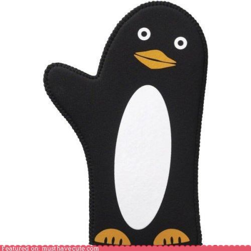 oven mitt penguin wave - 4457358592