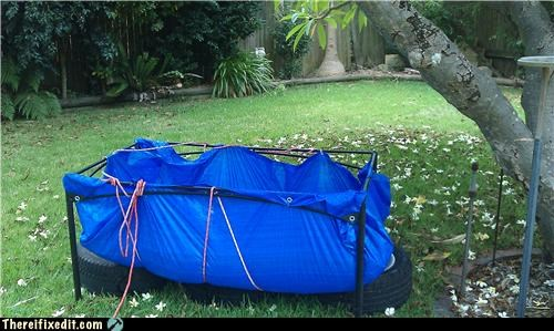 dual use,pool,tarp
