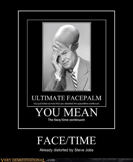 face time face palm jean-luc picard steve jobs - 4458134784