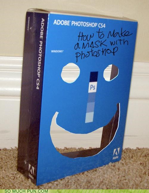 adobe,case,double meaning,literalism,mask,photoshop,product,program