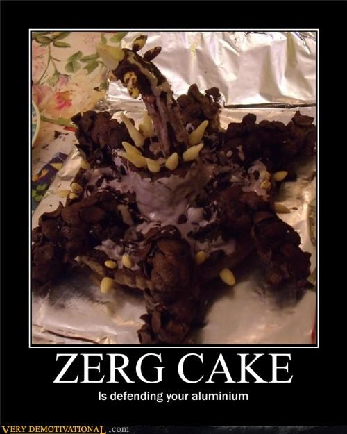 cake aluminium defense Zerg - 4459128320