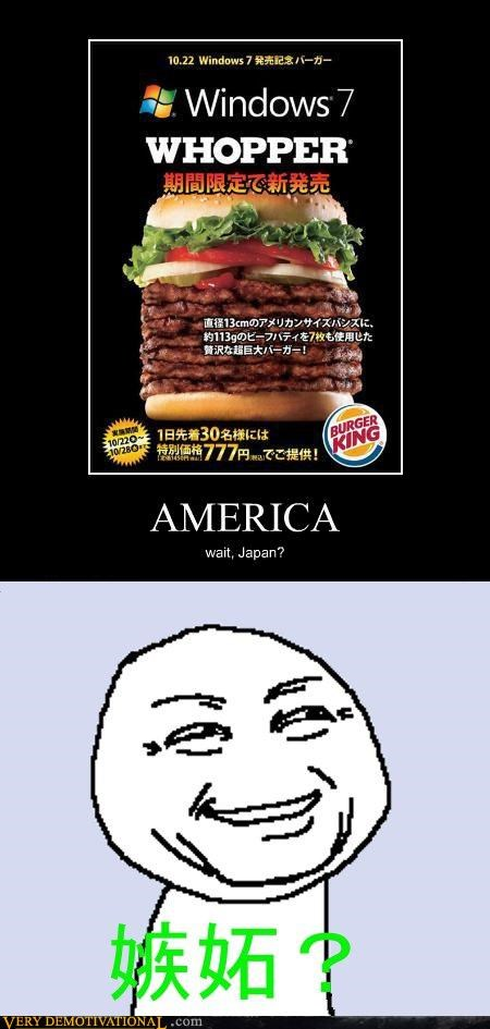 u jelly,troll,america,Japan