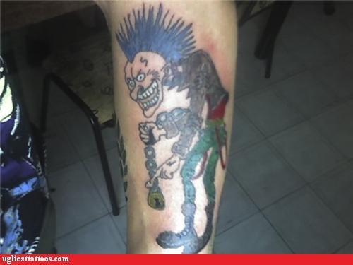 punks tattoos funny - 4459140096