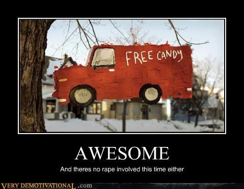 candy free pinata van - 4459650816