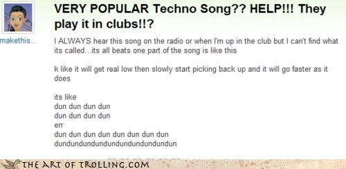 clubs,dun,popular,sandstorm,techno,unce,Yahoo Answer Fails