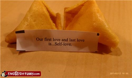 fortune cookie love self WoW - 4459825920