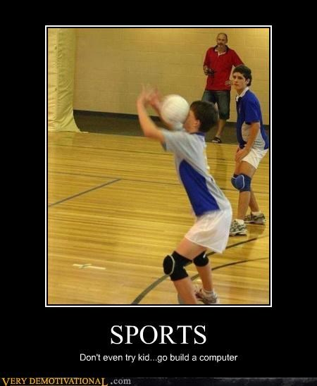indoor kid,nerds,sports,volleyball