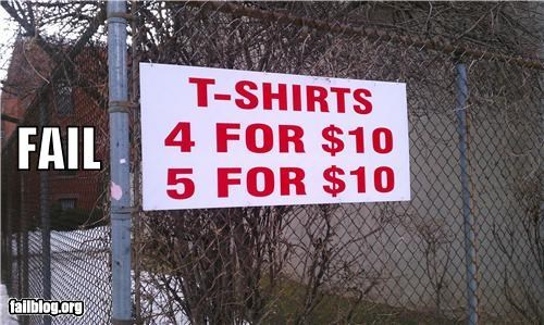 clothes,deal,failboat,g rated,math is too hard,money,savings,t shirts