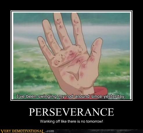 PERSEVERANCE Wanking off like there is no tomorrow!