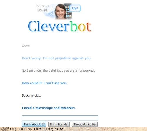 blowjobs Cleverbot it is an implication mean tiny tweezers - 4460559872