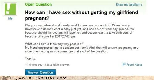 condoms,duplex,durex,puns,sexytime,was-that-too-much-of-a-stretch,Yahoo Answer Fails