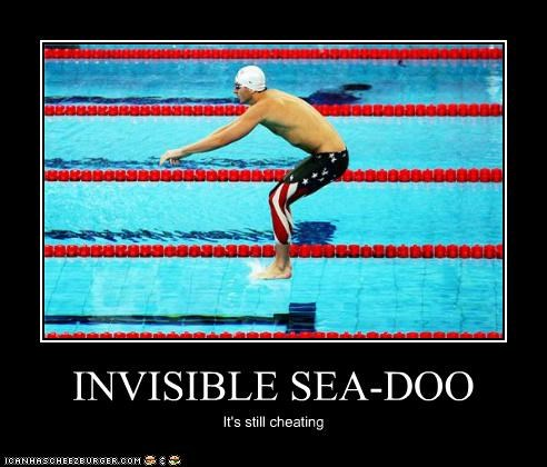 INVISIBLE SEA-DOO It's still cheating