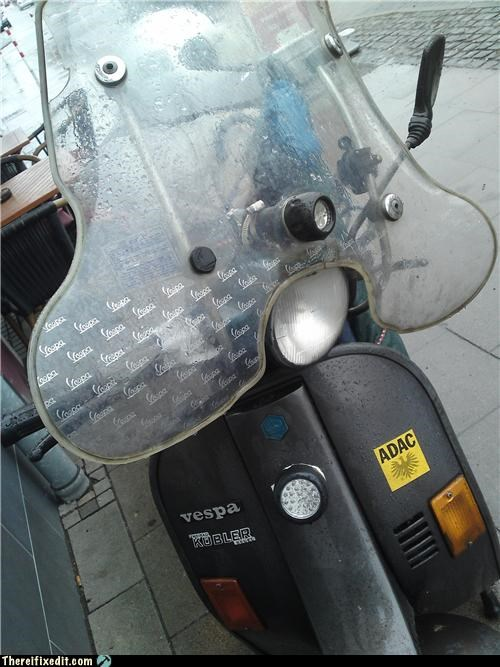 flashlight headlight scooter vespa - 4461099776