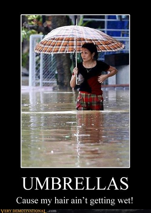 flood,hair,Pure Awesome,umbrella