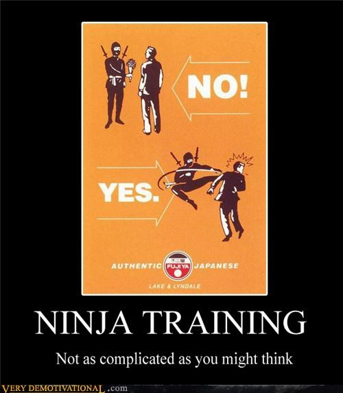flowers kick to the face ninja training - 4461105152