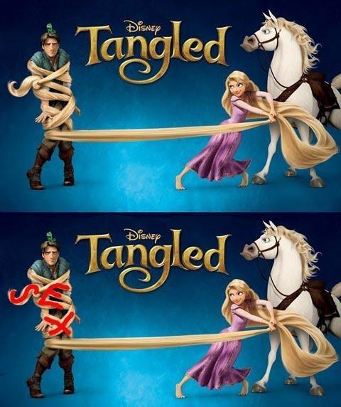 disney Marketing Campaign sex sells tangled - 4461723136