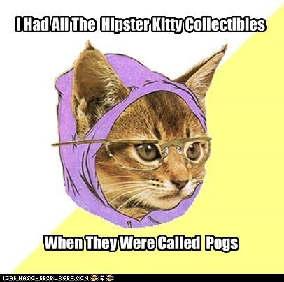 collectibles Hipster Kitty pogs - 4461922816