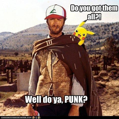 Clint Eastwood fake funny Pokémon shoop - 4461942784