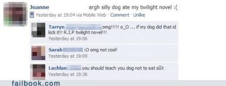 dogs twilight witty reply