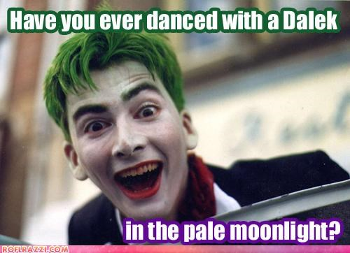 David Tennant,doctor who,funny,Hall of Fame,sci fi,the joker