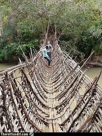 bridge,dangerous,Looks Legit,wooden