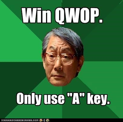 A key,high expectations asian dad,QWOP
