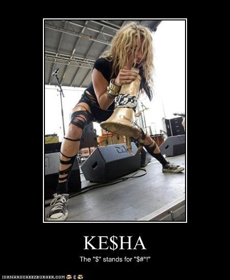 celeb,demotivational,funny,keha,Music