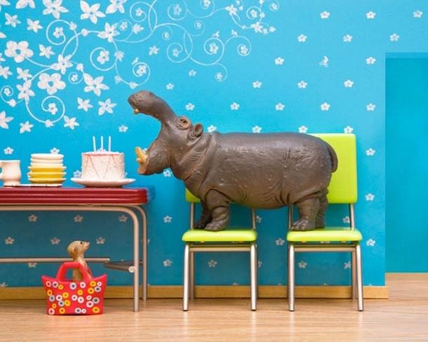 life secret prints toys plastic animals - 4463365